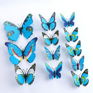 24 Butterflies - Decoration or Crafting Use
