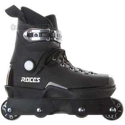 Roces M12 Black Aggressive Inline Skates US Mens 9.0 NEW