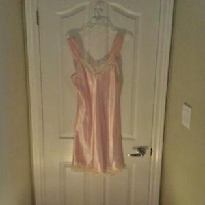 Women's Silk and Satin Chemises and Slips
