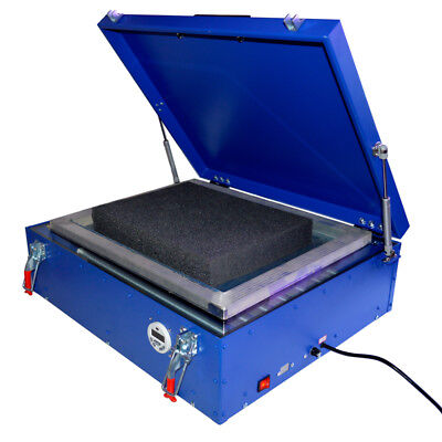 Uv Exposure Unit 21x25 Silk Screen Printing Led Light Box Plate Burning 110v