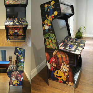Custom Arcade Cabinets - Great for Mame/PS4/Xbox One/PS3/Xbox/PC