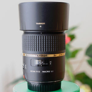 Tamron SP 60mm f/2 Di II Lens for Canon Brand New Condition
