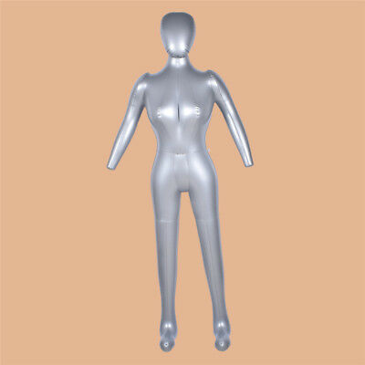 Inflatable Full Body Female Model Mannequin Women Clothing Pants Display Stand