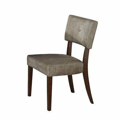 ACME Furniture Drake Side Chair in Gray and Espresso (Set of 2) Acme Furniture Set Chair