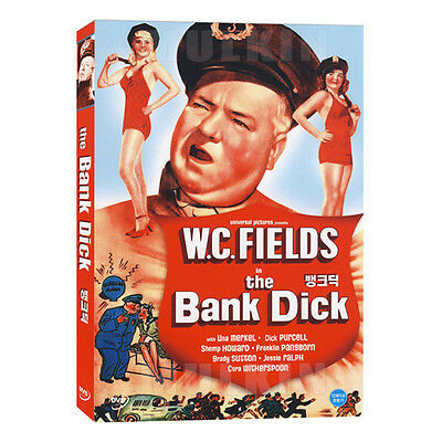 The Bank Dick  1940  Dvd   Edward F  Cline   New  All Region