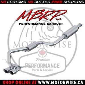 MBRP XP Series Aluminized Catback | 2013 to 2018 Ford Focus ST
