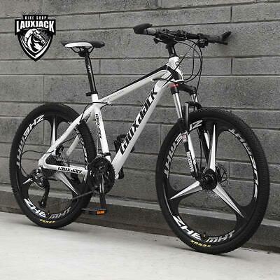 "24 Speed 26"" Full Suspension Mountain Bike/Bicycle JK3 BLACK AND WHITE"