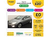 Vauxhall/Opel Astra 1.6i 16v VVT ( 115ps ) 2010MY SE FROM £20 PER WEEK!
