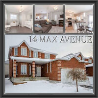 """THIS ALL-BRICK FAMILY HOME """"SOMERSET"""" SITUATED IN SOUTH BARRIE"""