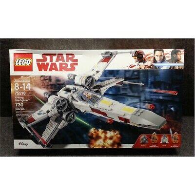 LEGO Disney Star Wars X-Wing Starfighter 730 Pieces 75218 SEALED, Worn Box