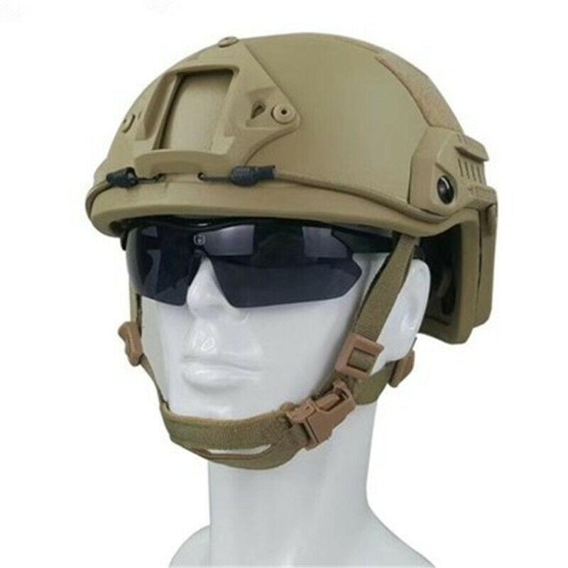 Fast Type Tactical Ballistic IIIA Bullet Explosion Proof Protective Helmet M/L