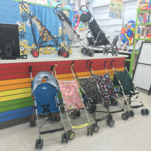 Strollers for traveling