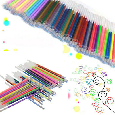 12/24/36/48 Colors Gel Pen Refills Glitter Coloring Drawing Craft Marker Cheap](Cheap Gel Pens)