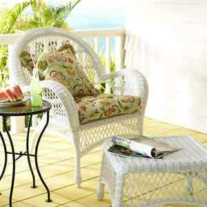 Pier One deluxe settee and chair cushion