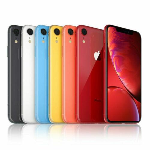 Apple iPhone XR 64GB 128GB 256 GB Verizon GSM Unlocked TMobile ATT 4G LTE