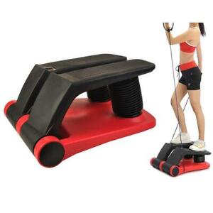 open box Air Stepper Climber Fitness Machine Resistant Cord#300002