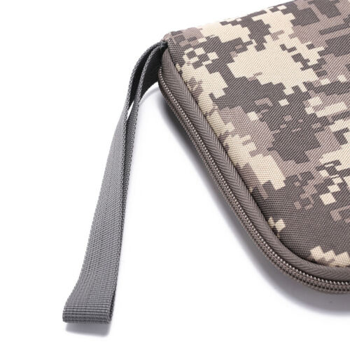 pistol carry bag portable military handgun holster pouch hand gun soft case TK - 8