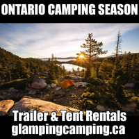 Fall Camping Season!! Rent a Trailer!