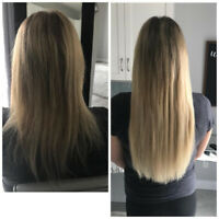 SAME DAY EXTENSIONS. in salon HOT FUSIONS MOBILE SERVICES