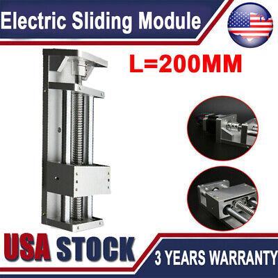 Electric Linear Rail Sliding Table Motion Module Sfu1605 Ballscrewl200mm