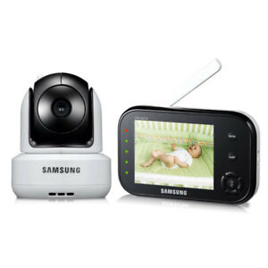 Samsung SEW-3037W Wireless Pan Tilt Video Baby Monitor Infrared