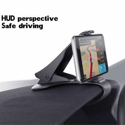 Universal Anti skid Car Phone Holder Clip HUD Design Dashboard Adjustable Mount*