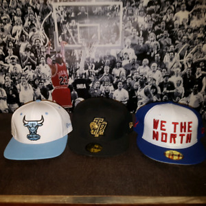 Brand new new era 59 fifty sz 7 3/8 fitted snap hat $20.00 each