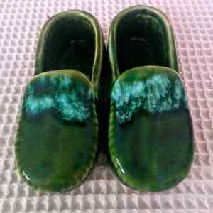 Vintage McMaster Canada Pottery Moccasins