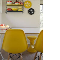 Eiffel Eames Gris, Jaune, et Rouge ( Grey, Yellow, and Red)