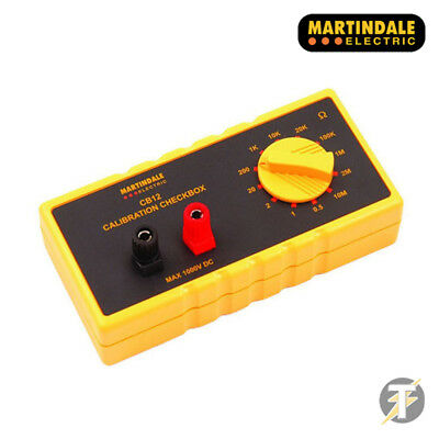 Martindale Cb12 Resistance Continuity Electric Calibration Checkbox