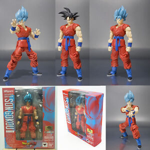 Dragon Ball Z SHFiguarts Super Saiyan God SS Son Goku Gokou Action Figure toy A