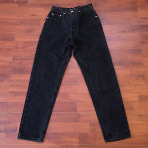 Black Guess Jeans - Red Triangle