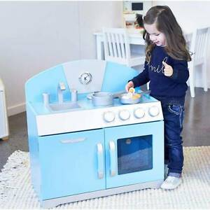 Wooden Kids Kitchen Play retro Perth Perth City Area Preview