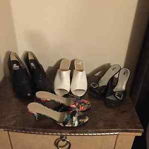 very nice pairs of shoes 1 pair brand new never worn. GC