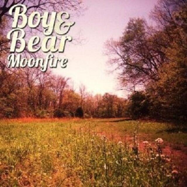 BOY & BEAR - MOONFIRE  CD 11 TRACKS NEU