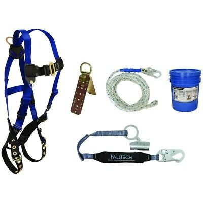 Falltech Contractors Roofers Kit Fall Protection Safety Harness 7593a