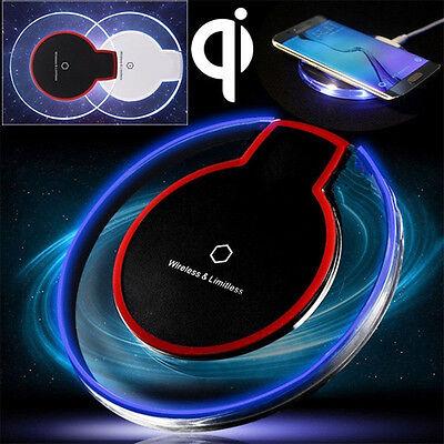 TAPPETINO INDUTTIVO CARICABATTERIA WIRELESS A INDUZIONE Qi UNIVERSALE SMARTPHONE