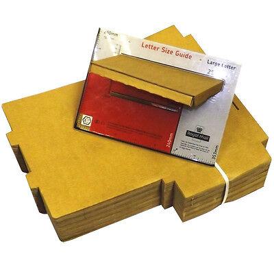 1000 x C4 A4 Postal Royal Mail Large Letter Maximum Size Post Pip Cardboard Box