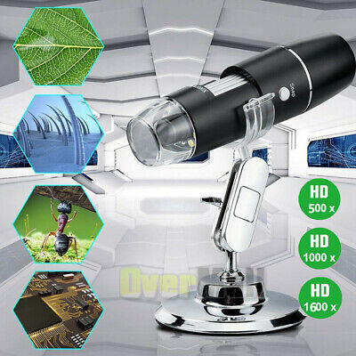 10001600x Zoom Hd 1080p Usb Microscope Digital Magnifier Endoscope Video Camera