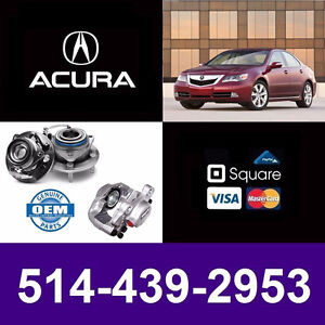 Acura RL ■ Roulements, Étriers ► Bearings, Calipers