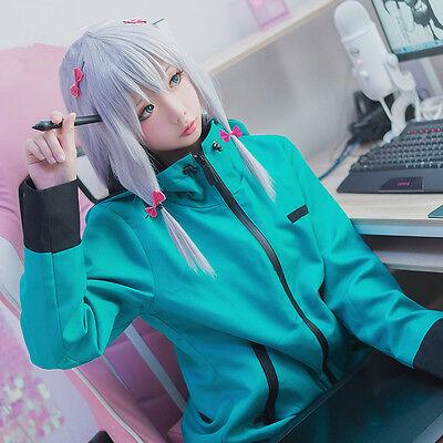Sensei Kostüm (Anime Eromanga Sensei Izumi Sagiri Cosplay costume Kostüm Uniform Jacke Perücke)