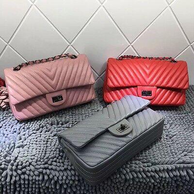 Flap Tote Handbag - Classic Women's Handbag Leather FLAP BAG Shoulder Bag Totes Designer Bags