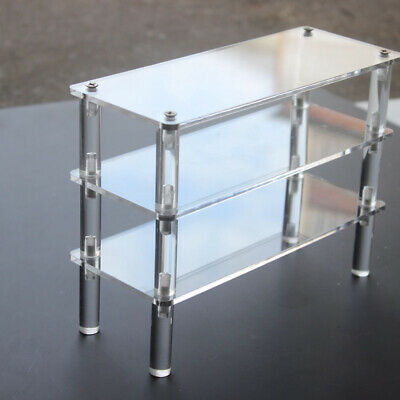 Acrylic Display Shelf Clear Product Stand Model Removable Transparent Stands