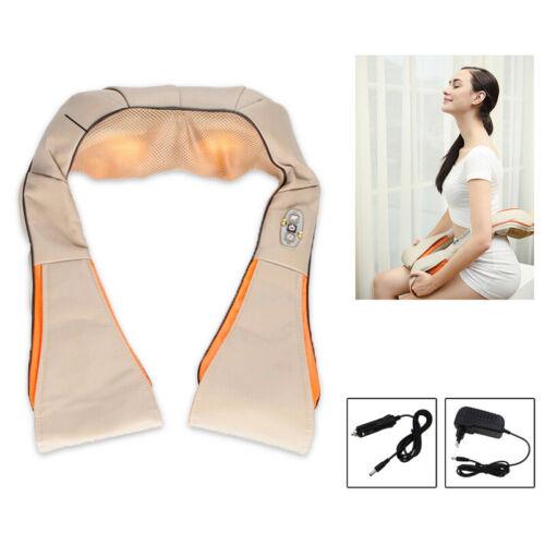 Shiatsu massage Elektrische mit Gürtel Wärmefunktion Nackenmassagegerät Auto