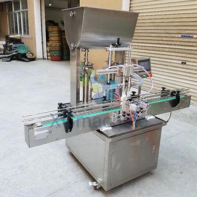 50-500ml Aloe Vera Gel Alcohol Hand Gel Filling Machine 10-40 Bottlesmin