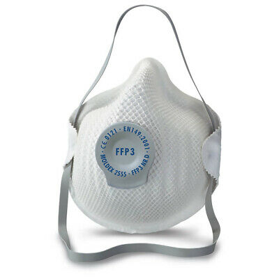 MOLDEX Feinstaubmaske 2555 FFP3 mit Ventil Maske