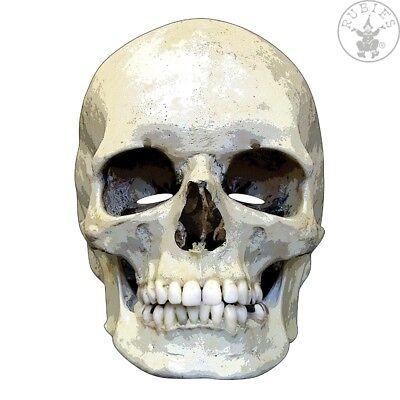 Totenkopf Maske 2D Gesichtsmaske Horror Halloween Theater (Totenkopf Halloween)