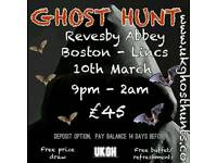 Ghost hunt at revesby abbey