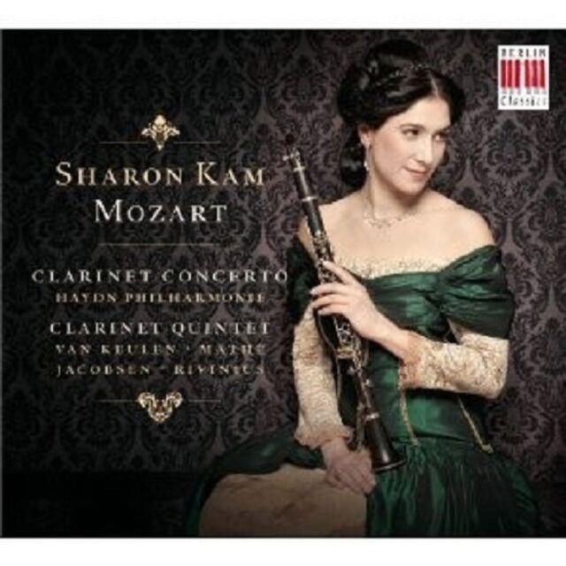 "SHARON KAM ""KLARINETTENKONZERT/-QUINTETT""  CD NEUWARE"