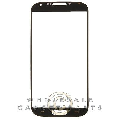 Lens for Samsung Galaxy S4 Magnifying glass Only Black Black Glass Screen Cover Protective